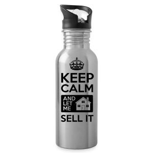 Keep Calm Sell It Water - Water Bottle