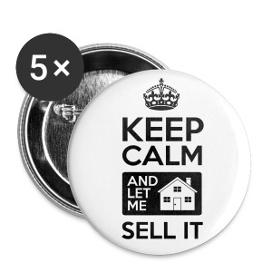Keep Calm Sell It 1 Button - Small Buttons