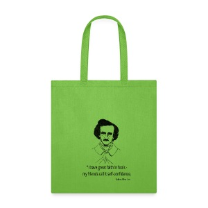 Great Faith In Fools Canvas Tote Bag - Tote Bag