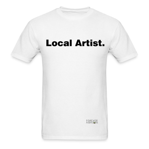 Local Artist Tee - White- Men - Men's T-Shirt