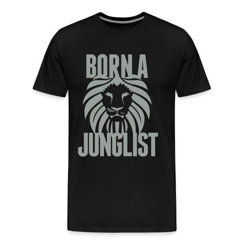 Born A Junglist - Men's Premium T-Shirt
