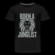 Kids' Shirts ~ Kids' Premium T-Shirt ~ Born A Junglist Kids