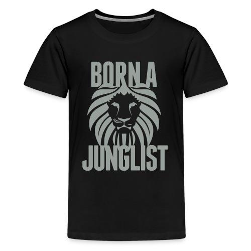 Born A Junglist Kids - Kids' Premium T-Shirt