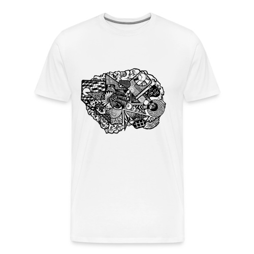 DoodleBrain - Men's Premium T-Shirt