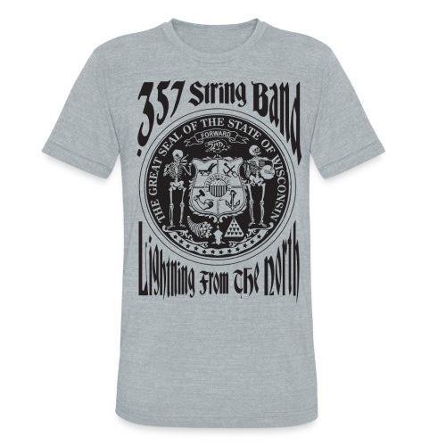 .357 State Seal Tri-Blend AA T-Shirt - Unisex Tri-Blend T-Shirt