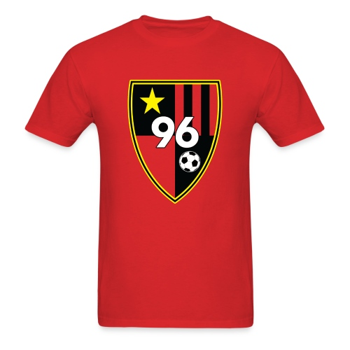 96 – Red Men's T-shirt - Men's T-Shirt