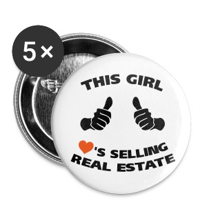 This Girl Loves RE 2.25 - Large Buttons