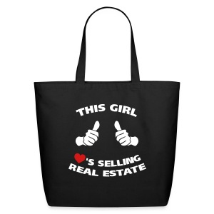 This Girl Loves RE Cotton - Eco-Friendly Cotton Tote