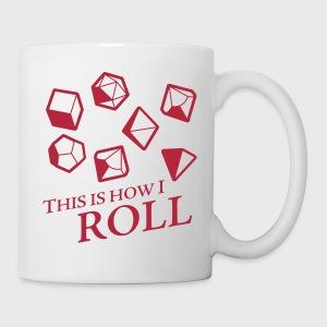 How I Roll Dice Dungeons & Dragons - Coffee/Tea Mug