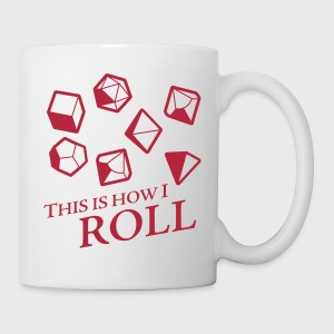 How I Roll Dice Dungeons & Dragons - Coffee/Tea Mug