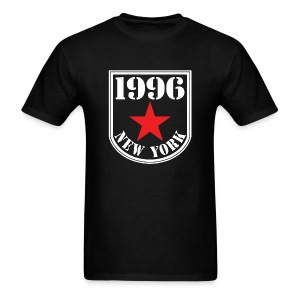 Black 1996 NY Men's T-shirt - Men's T-Shirt