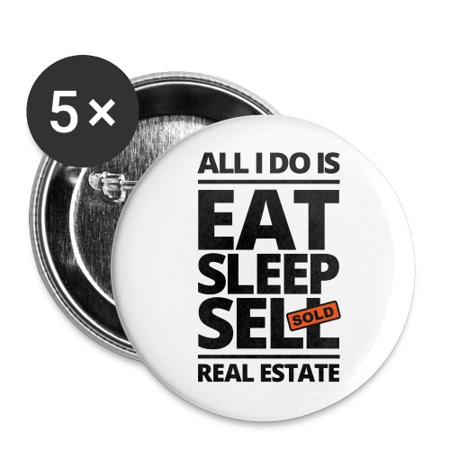 Eat Sleep Sell 1 - Small Buttons