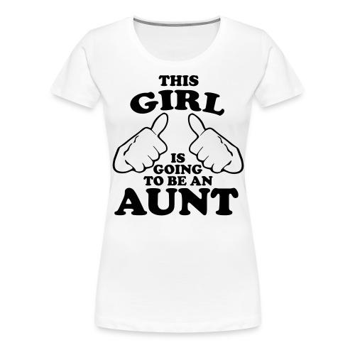 Future aunt - Women's Premium T-Shirt