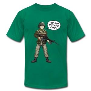 BFFs Noob - Dip Dip Potato Chip - Men's Fine Jersey T-Shirt