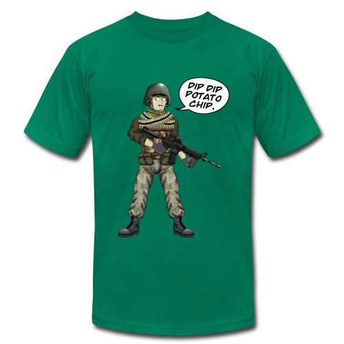 BFFs Noob - Dip Dip Potato Chip - Men's  Jersey T-Shirt