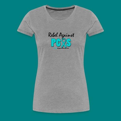 Women: Rebel Against PCOS Premium Shirt - Women's Premium T-Shirt
