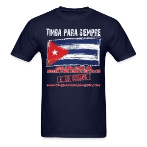 TimbaParaSiempre Regular Fit - Navy Blue - Men's T-Shirt