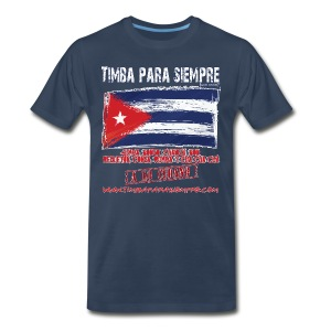 TimbaParaSiempre - Navy Blue - Men's Premium T-Shirt
