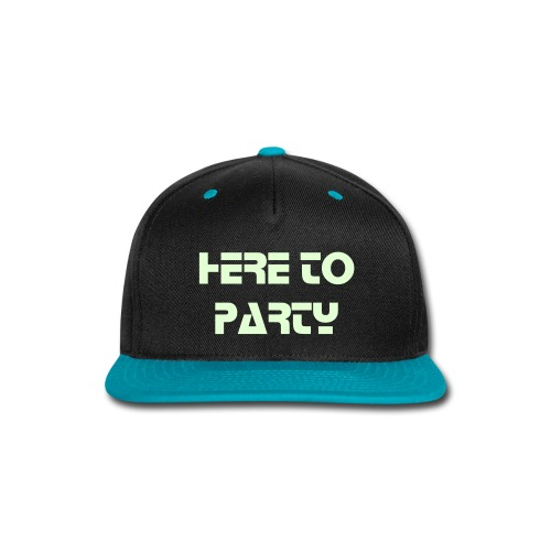 Here To Party SnapBack - Snap-back Baseball Cap