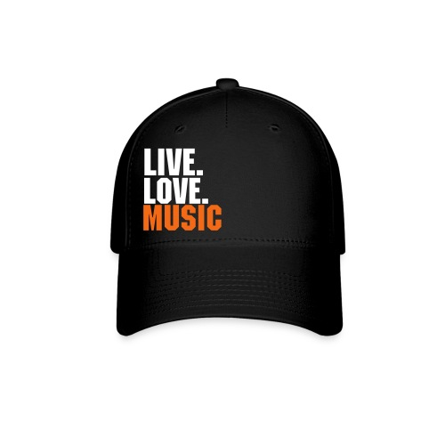 Live, Love MUSIC - Baseball Cap