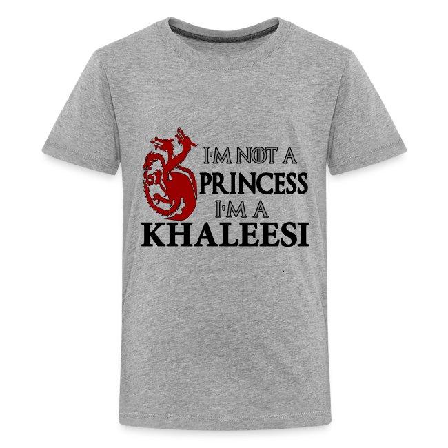 ff0bbb2d27 I'M NOT A PRINCESS I'M A KHALEESI   Kids' Premium T-Shirt