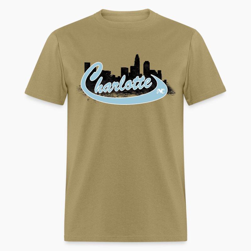 charlotte skyline t shirt spreadshirt