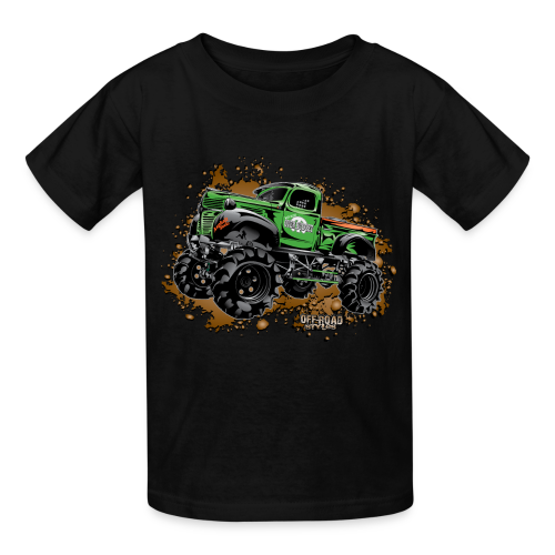 Wicked Over Budget Truck  - Kids' T-Shirt