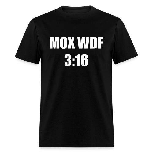 Mox 3:16 - Men's T-Shirt