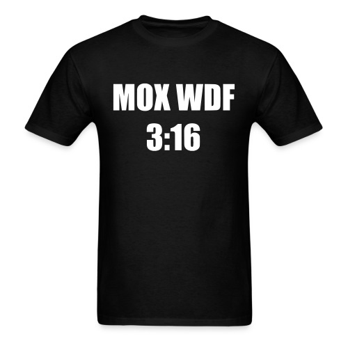 Mox 3:16 - Men's T-Shirt