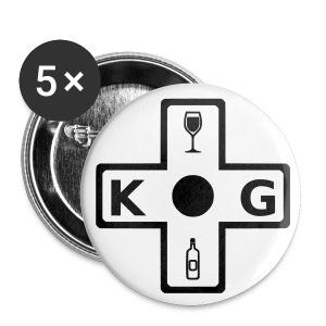 KG Plain Logo Button - Small Buttons