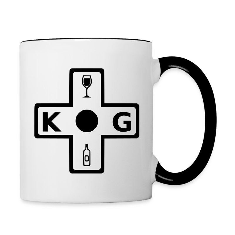 KG Coffee Cup - Contrast Coffee Mug
