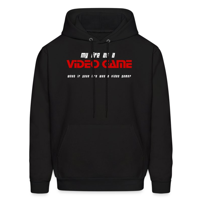 My Life as a Video Game - Hoodie - Men's Hoodie