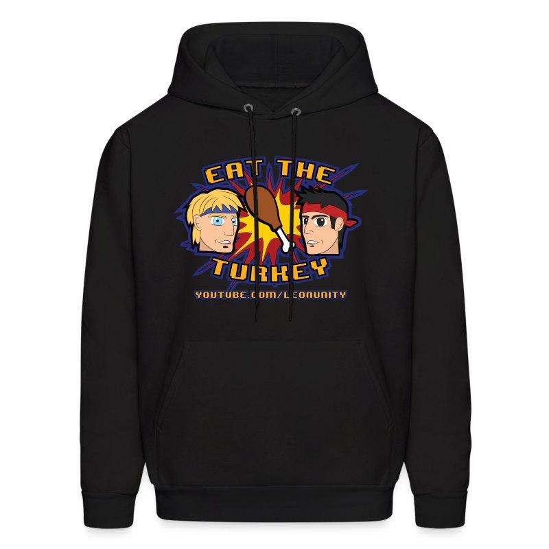 Eat the Turkey - Hoodie - Men's Hoodie