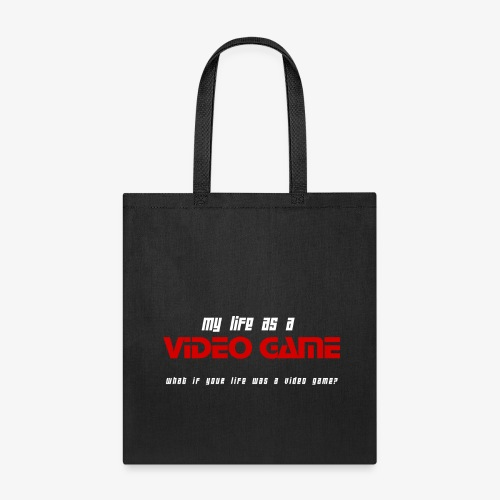 My Life as a Video Game - Shopping Bag - Tote Bag