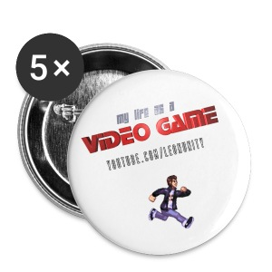 My Life as a Video Game - Buttons - Large Buttons
