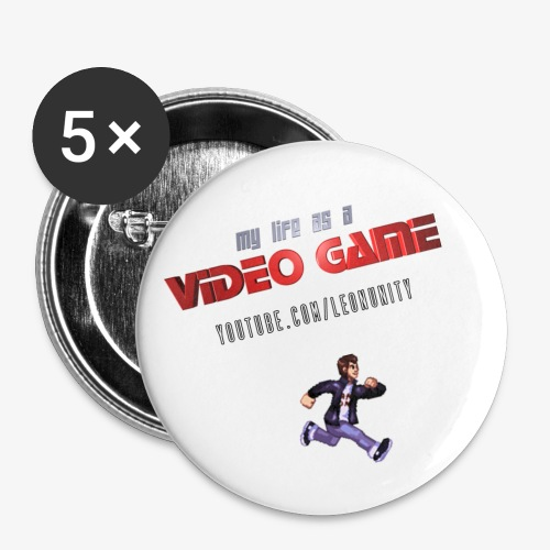 My Life as a Video Game - Buttons - Buttons large 2.2'' (5-pack)