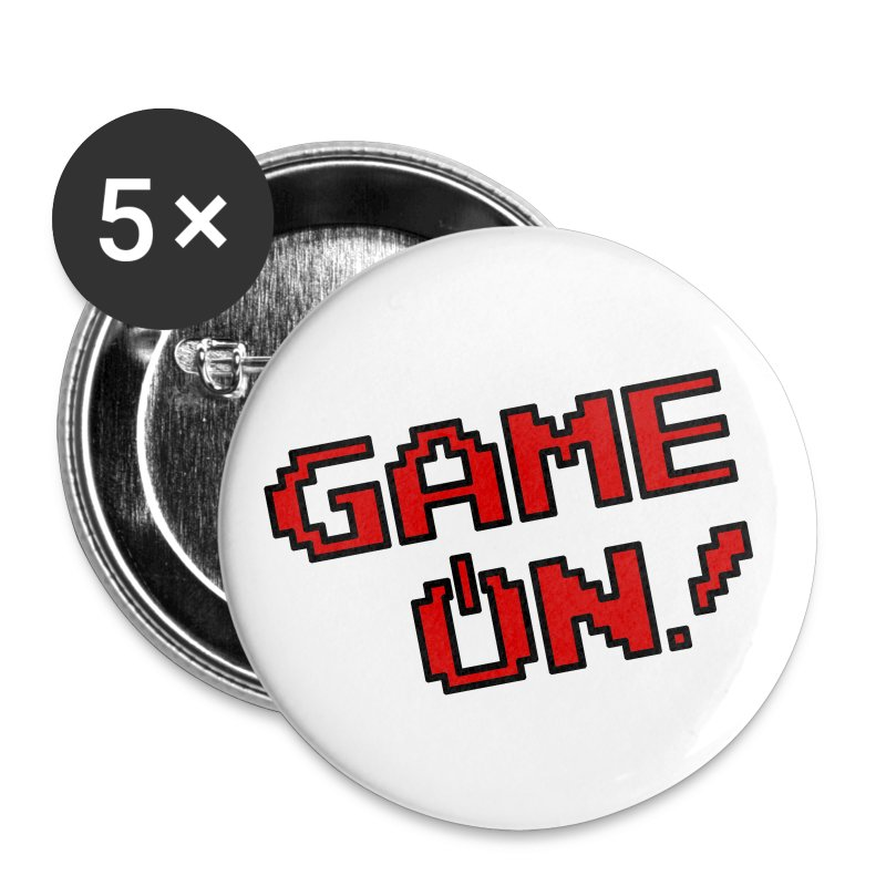 Game On! - Buttons - Large Buttons