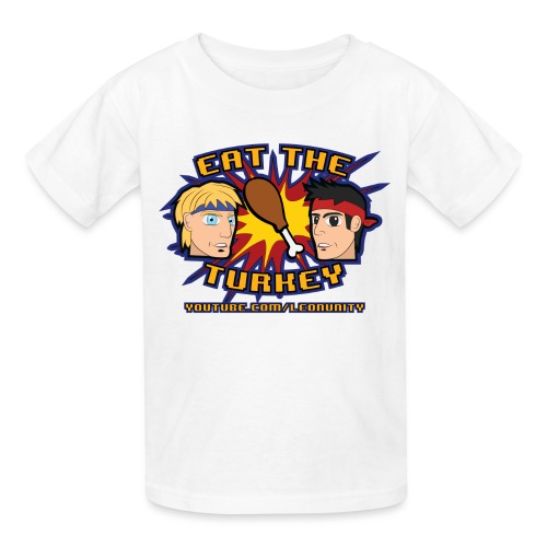 Eat the Turkey (Babies) - Kids' T-Shirt