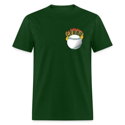 BBQers Logo Retro Shirt - Men's T-Shirt