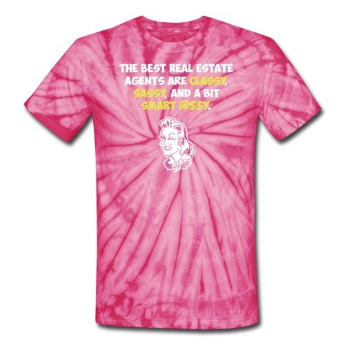 Best RE Agents Tie Dye - Unisex Tie Dye T-Shirt