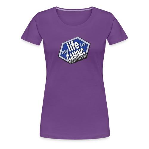 My Life in Gaming Women's T-Shirt (Spreadshirt) - Women's Premium T-Shirt