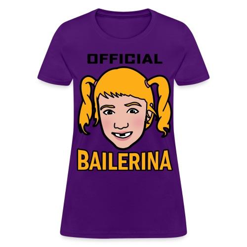 Official Bailerina Women's Tshirt - Women's T-Shirt