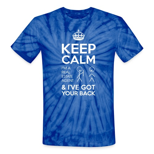 Keep Calm Got Back Tie Dye - Unisex Tie Dye T-Shirt