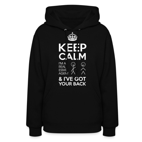 Keep Calm Got Back Hooded - Women's Hoodie