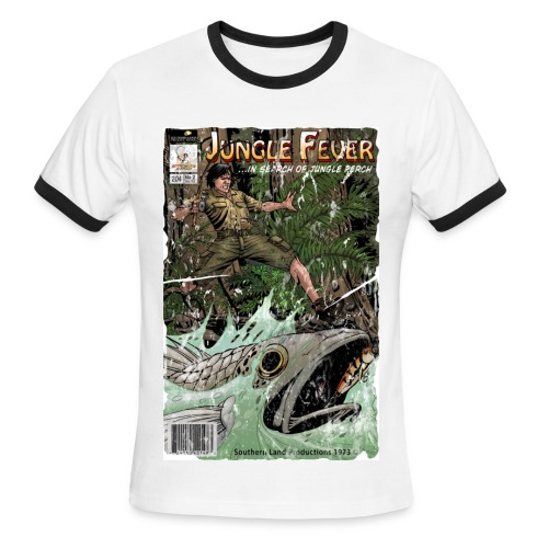 Jungle Fever T-Shirt (Vintage) - Men's Ringer T-Shirt