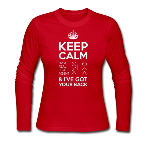 Keep Calm Got Back Jersey - Women's Long Sleeve Jersey T-Shirt