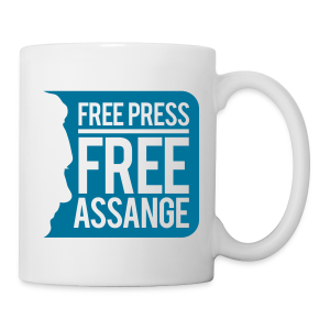 Free Press - Free Assange - Coffee/Tea Mug