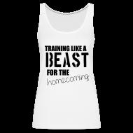 Tanks ~ Women's Premium Tank Top ~ Training like a beast