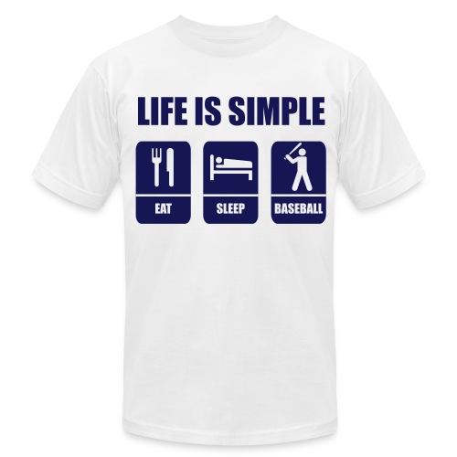Life Is Simple  - Men's  Jersey T-Shirt