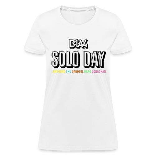 SoloBlackCNFemale - Women's T-Shirt